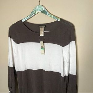 Tommy Bahama Dresses - 🔥 SALE Tommy Bahama Beach Sweater taupe and White